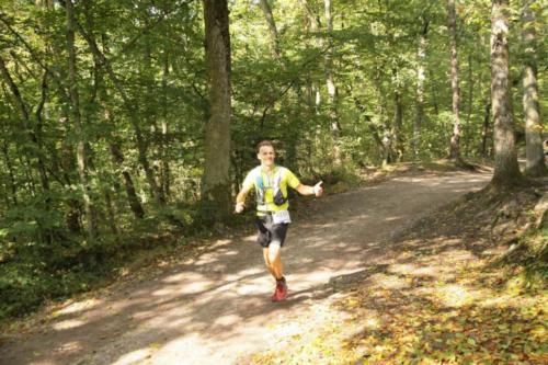 Les athlètes de l'ACCA sur le Trail du Haut-Koenigsbourg